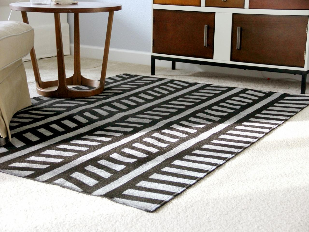 How to make a cheap outdoor rug